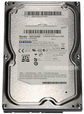 Жесткий диск Samsung EcoGreen F1 HDD 1.0Tb (HD103SI)