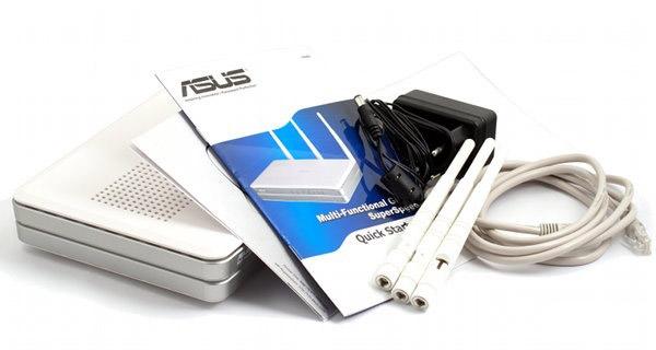 Комплект поставки Wi-Fi Маршрутизатора ASUS RT-N16