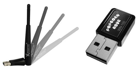 Wi-Fi адаптеры для плееров Xtreamer и PopcornHour