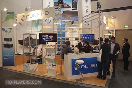 Стенд Dune HD на выставке IFA 2011