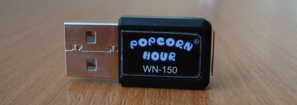 Фирменного адаптера PopcornHour WN-150