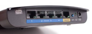 Cisco Linksys E1200 WiFi роутер