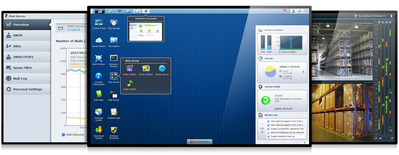 Synology® DiskStation Manager 4.1 Beta