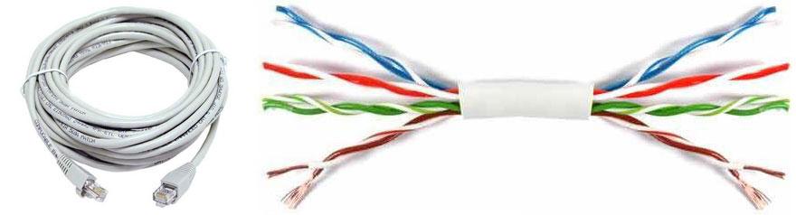 Сетевой кабель Lan - патч-корд RJ45